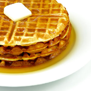 how to cook eggo waffles on the stove